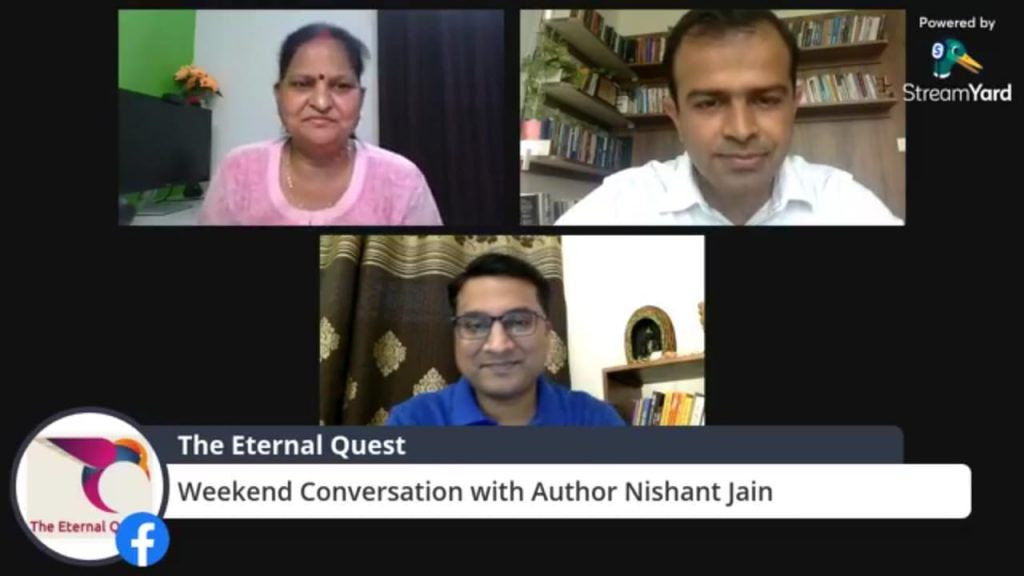 """Author Nishant Jain  on his latest book, """"Don't  you Quit"""""""